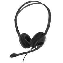 eartec office 150 USB Binaural Headset - Front View