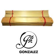 Gonzalez Profiled Bassoon Cane - 10 Pieces