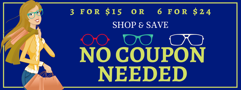 6 for $24 | American Reading Glass Sale | Sale on Reading Glasses