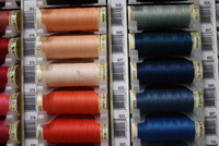 Coral Red #378 Polyester Thread - 100m