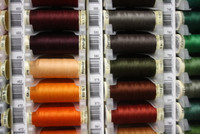 Wine #455 Polyester Thread - 100m