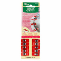 Red Wonder Clips 10 pack