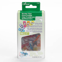 Colourful Wonder Clips 50 pack