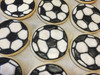 Soccer Ball Sugar Cookies