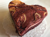 Red Velvet Cream Cheese Brownie