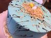 Speckle Easter Egg Cake