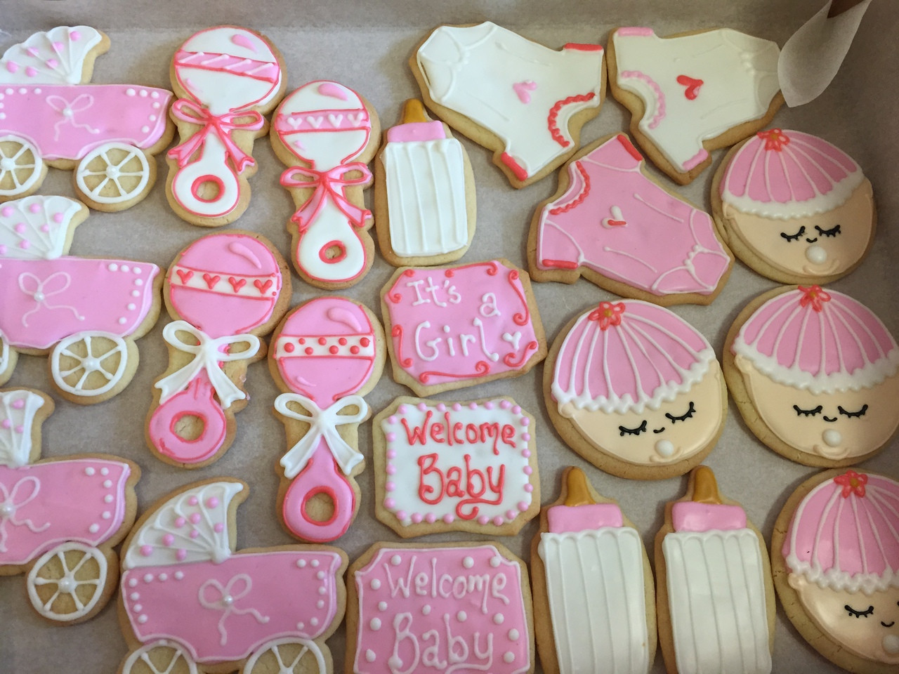 High Quality Baby Shower Cookies