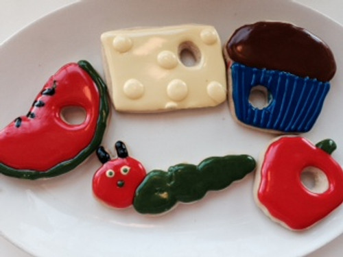 The Very Very Hungry Caterpillar Sugar Cookies