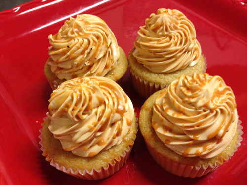 Butter Beer Cupcakes