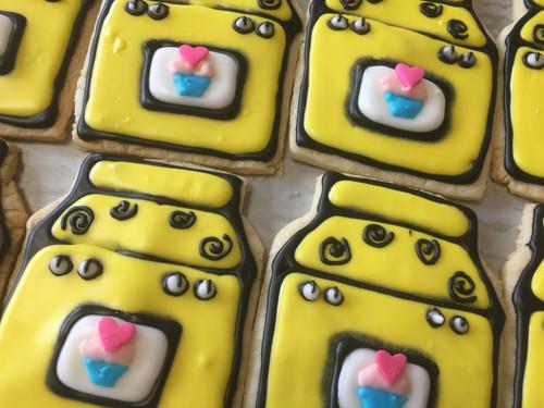 """Bun in the Oven"" Sugar Cookies"