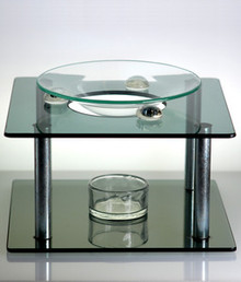 Modern-Art Glass Oil Burner