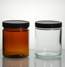 8oz Glass Jars with caps