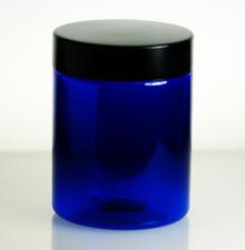 8oz Blue PET Jars