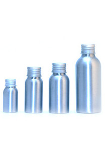 120 ml Aluminum Bottles w/Caps