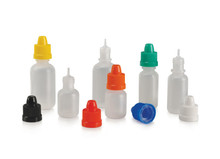 5-30 ml LDPE Bottle W/Child Resistant Caps & Drop Tip.