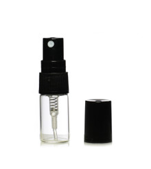 3 ml Glass Vials with Atomizer