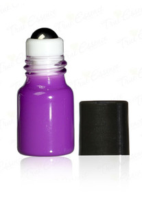 2 Ml Purple Mini Roll on Bottles