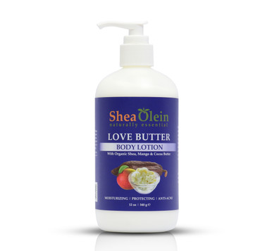 Shea Olein Love butter Body Lotion.