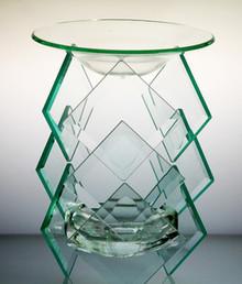Triple Diamond Glass Burner