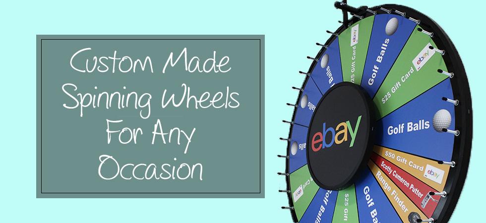 custom prize wheels