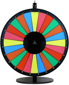 24 Inch Multicolor Dry Erase Prize Wheel