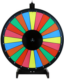 30 Inch Multicolor Dry Erase Prize Wheel
