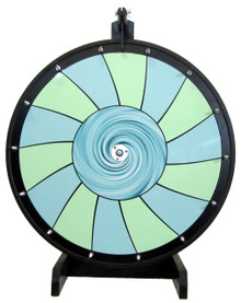 30 Inch Swirl Color Dry Erase Prize Wheel