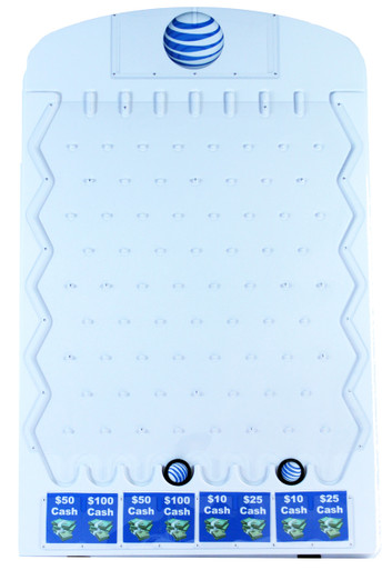 Large Plinko Game Available in Black or White