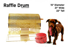 Large Raffle Drum