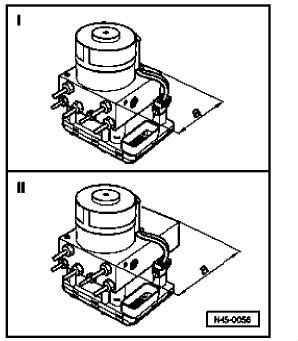 2003 Volkswagen Jetta ABS Removal Instructions for ABS ITT