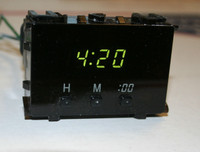 Repair Service for 1996-2002 Toyota 4 Runner Digital Clock Display.