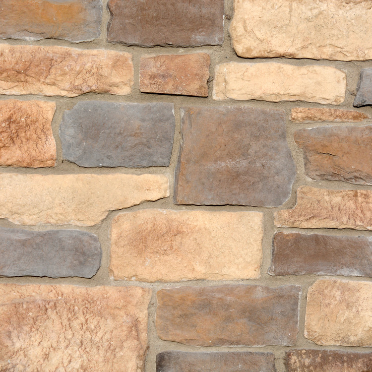Picture of a Limestone Stone Veneer in the Alpine color palette by Superior Stone (Lynnwood Washington based).