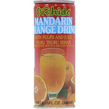 Mandarin Orange Drink  From Orchids