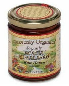 Acacia Himalayan, Raw/Unheated, 6 of 12 OZ, Heavenly Organics
