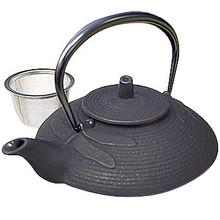 Tetsubin Iron Teapot - Black Dragonfly  From Kotobuki