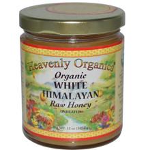 White Himalayan, Raw, Unheated, 6 of 12 OZ, Heavenly Organics