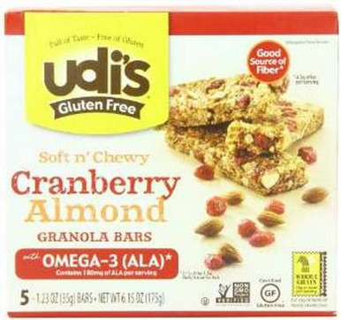... granola bars with Omega-3 ALA are perfect for on-the-go or as a quick