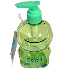 Green Frog Soap Bottle  From Ditto