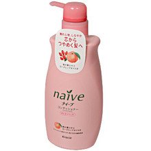 Naive Peach & Rose Hip Conditioner  From AFG