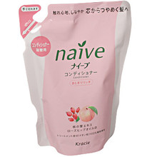 Naive Peach & Rose Hip Conditioner Refill  From AFG