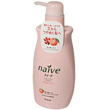 Naive Peach and Rosehip Shampoo  From AFG