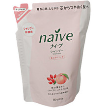 Naive Peach & Rose Hip Shampoo Refill  From AFG