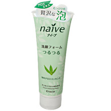 Naive Aloe Foaming Face Wash  From AFG