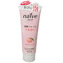 Naive Peach Foaming Face Wash  From AFG