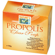 Nature's Kin Propolis Clear Soap  From Nature's Kin