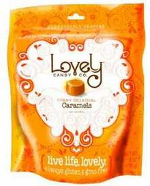 Chewy Original Caramels, 6 of 2 OZ, Lovely Candy Co