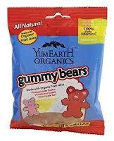 Bears, 24 of 0.9 OZ, Yummy Earth