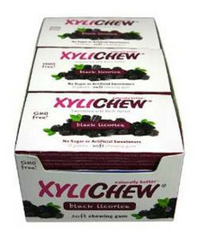 Black Licorice, Display, 24 of 12 PC, Xylichew