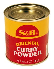 S&B Oriental Curry Powder 3 oz  From S&B