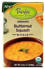 Bisque, Butternut Squash, 12 of 17.6OZ, Pacific Natural Foods